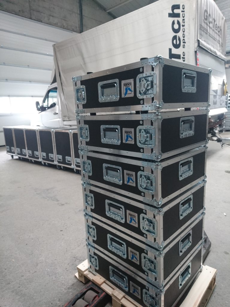 Flightcases et racks